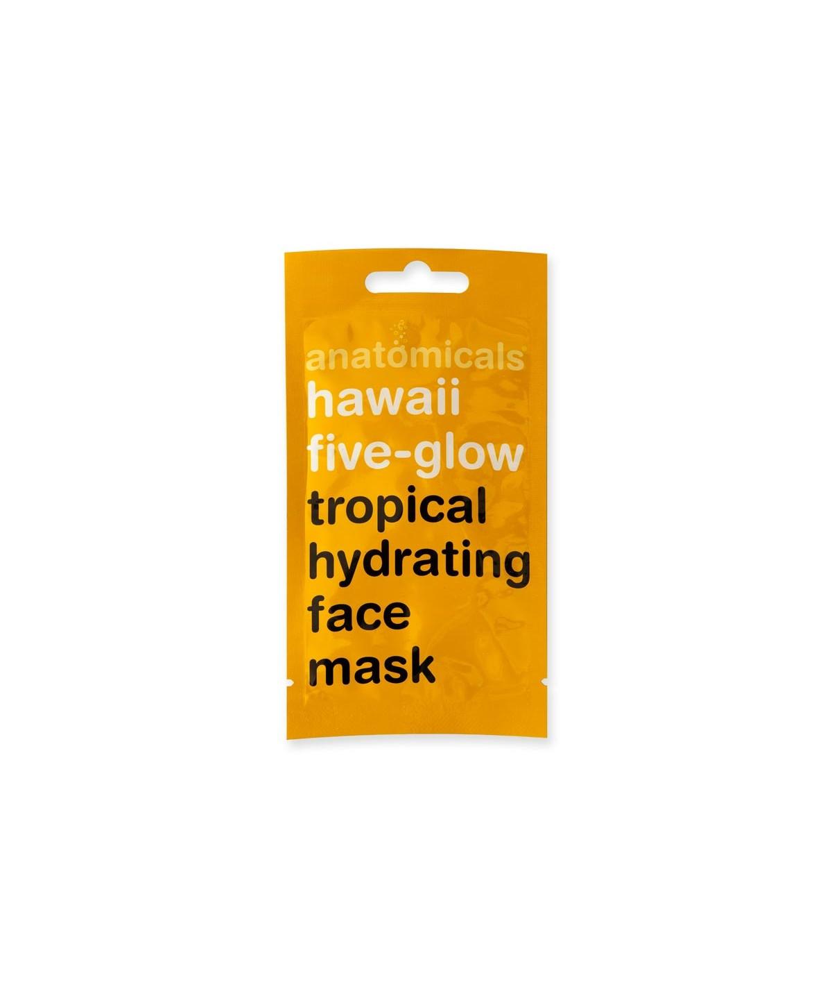 "Mascarilla ""Hawaii five-glow"""