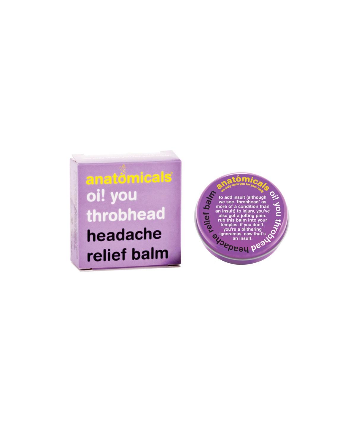 Bálsamo anti-dolor de cabeza