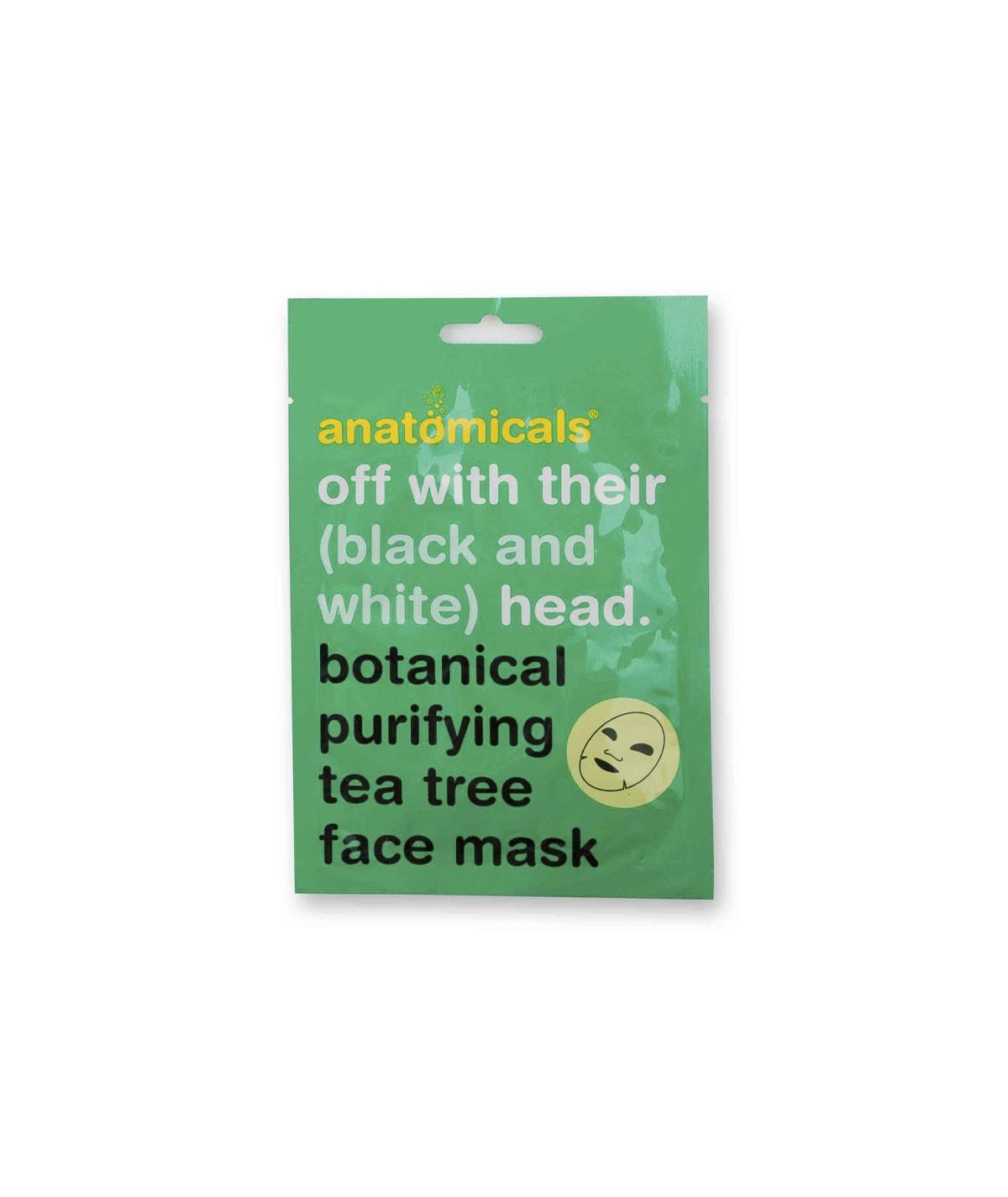Mascarilla facial botánica...